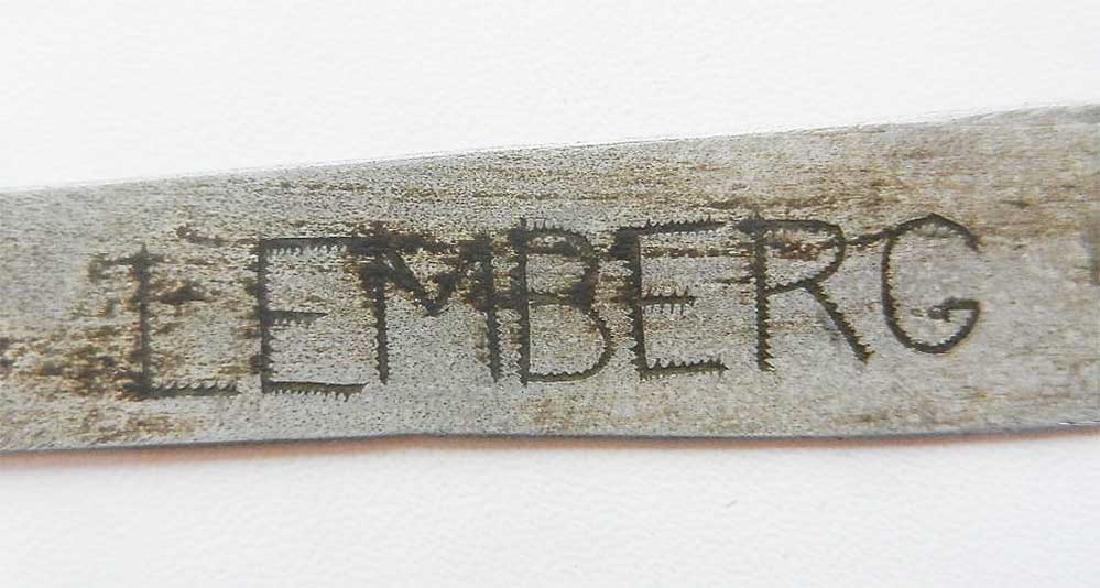 Jewish WW2 Knife for Envelopes w. Star of David - 4