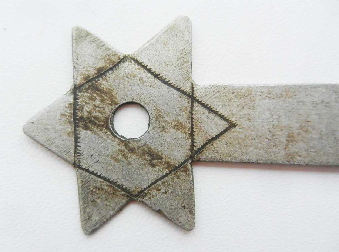 Jewish WW2 Knife for Envelopes w. Star of David - 5