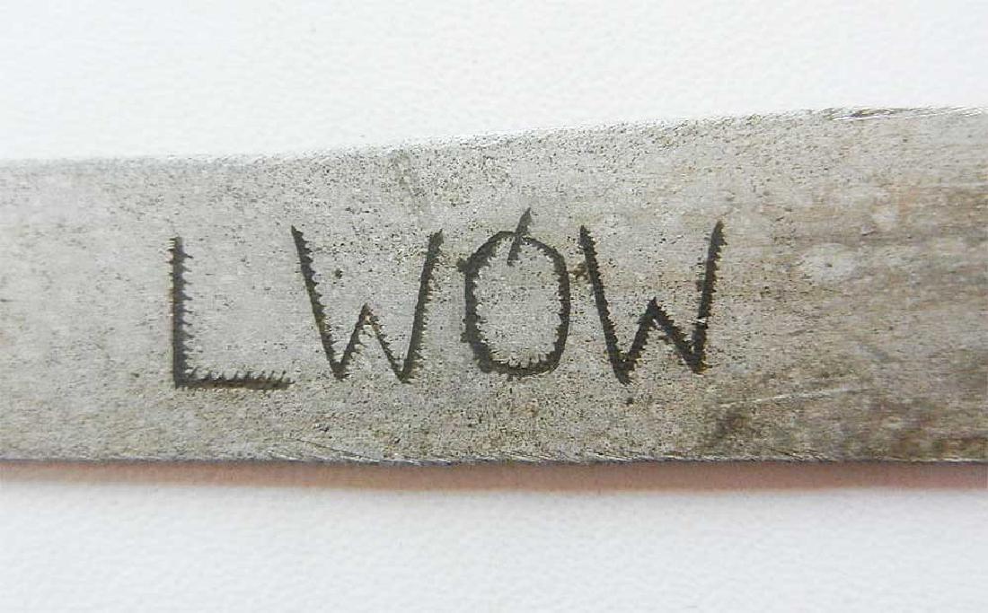 Jewish WW2 Knife for Envelopes w. Star of David - 7