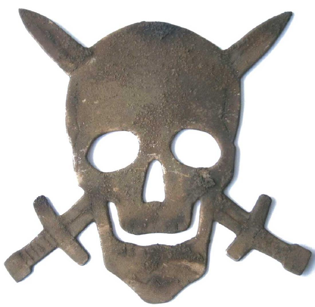 Original German WW2 Skull & Swords, Ostfront 1941-1945