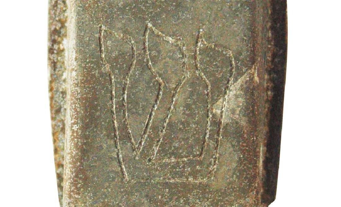 Jewish WW2 Mezuzah w. Star of David & Menorah, Krakow - 5