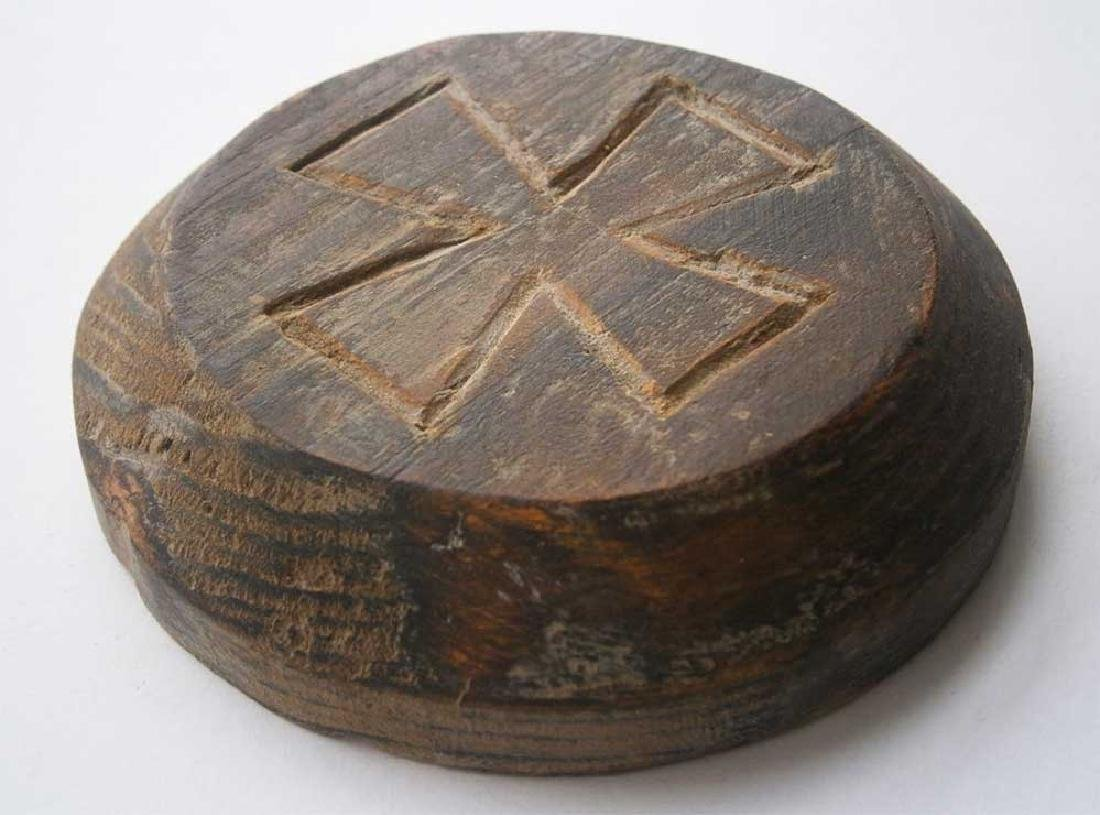 Original German WW2 Plate w. Iron Cross, 1941-1945 - 5