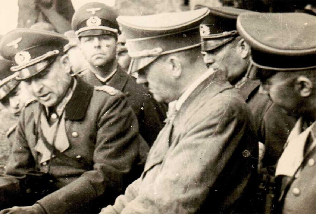 German WWII Photo of Adolf Hitler fr. Public Archives