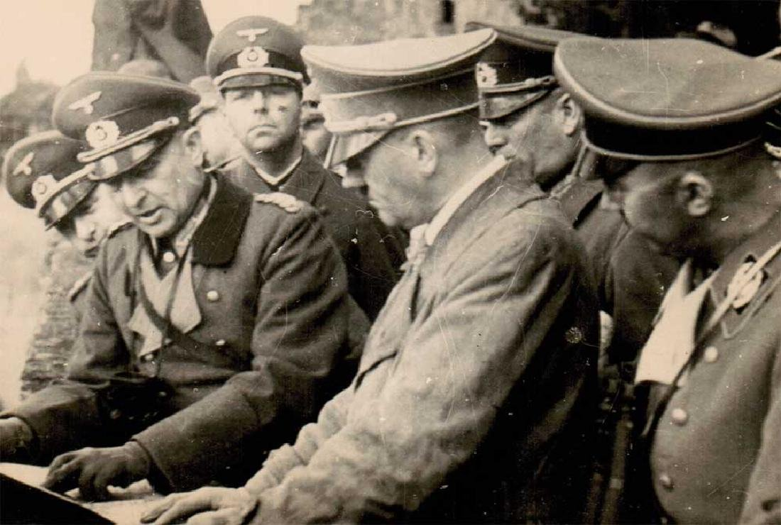 German WWII Photo of Adolf Hitler fr. Public Archives - 3
