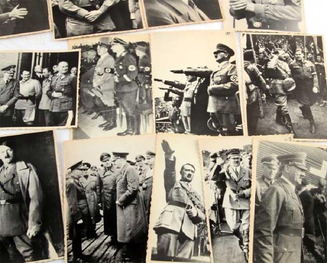 German WWII Photo of Adolf Hitler fr. Public Archives - 8