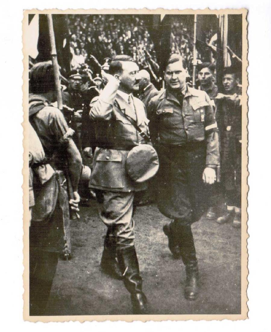 German WWII Photo of Adolf Hitler fr. Public Archive
