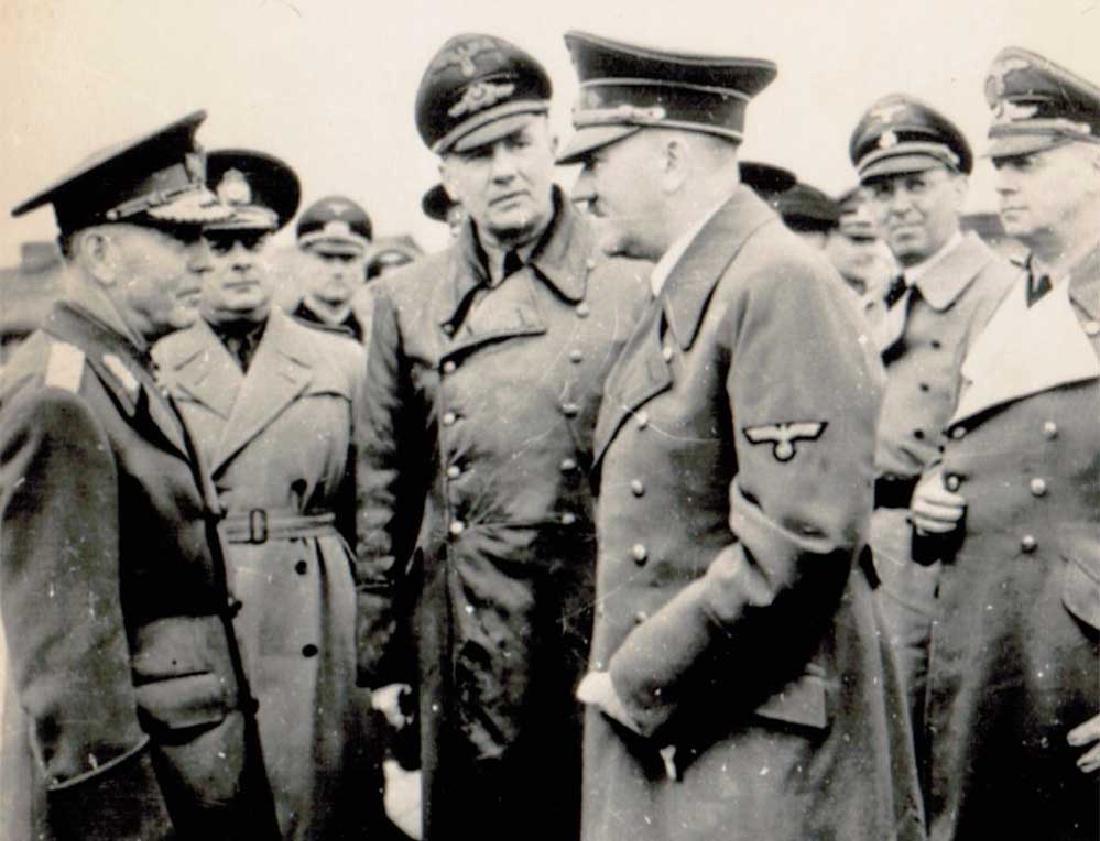 German WWII Photo of Adolf Hitler