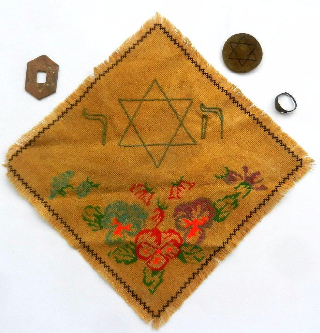 Original Jewish WW2 Ring w. Initial fr. Litzmannstadt - 6