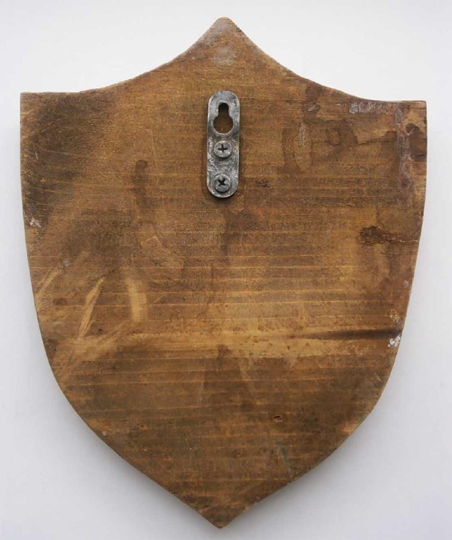 Jewish WW2 Large Shield w. STAR of DAVID, Litzmannstadt - 8