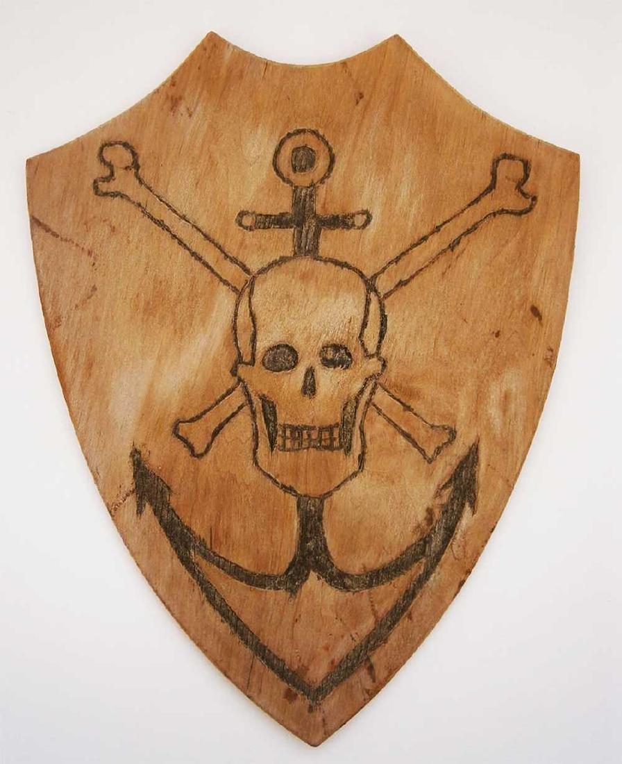 German WW2 Kriegsmarine ANCHOR + Skull & Bones
