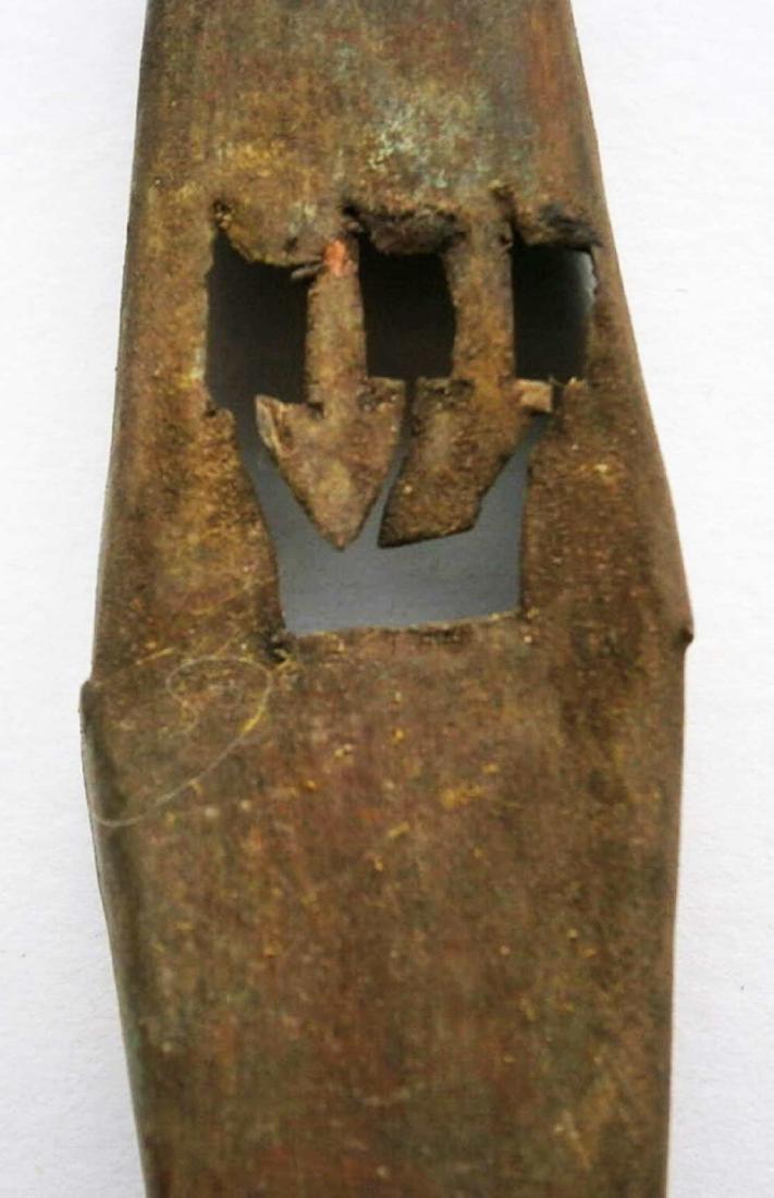 Original Unusual Jewish WW2 Mezuzah fr. Krakow - 2
