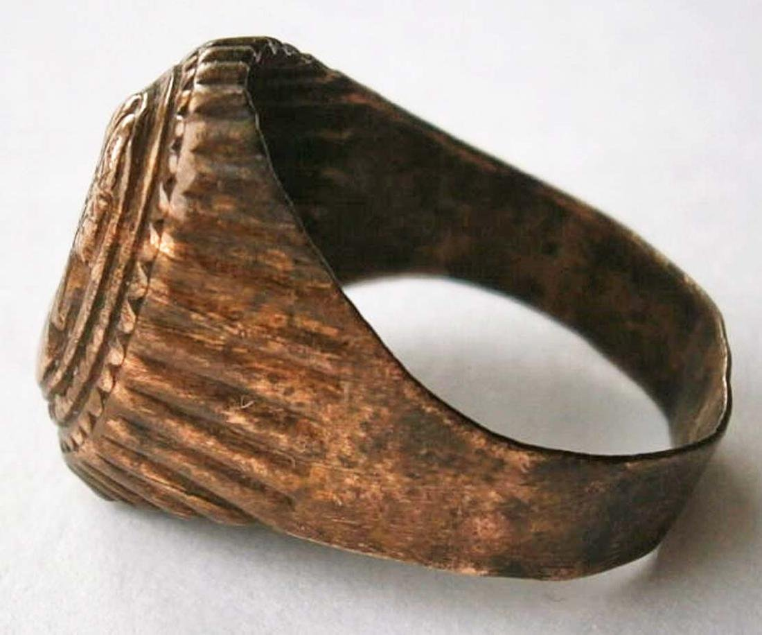 Original German WW2 Bronze Ring - 3