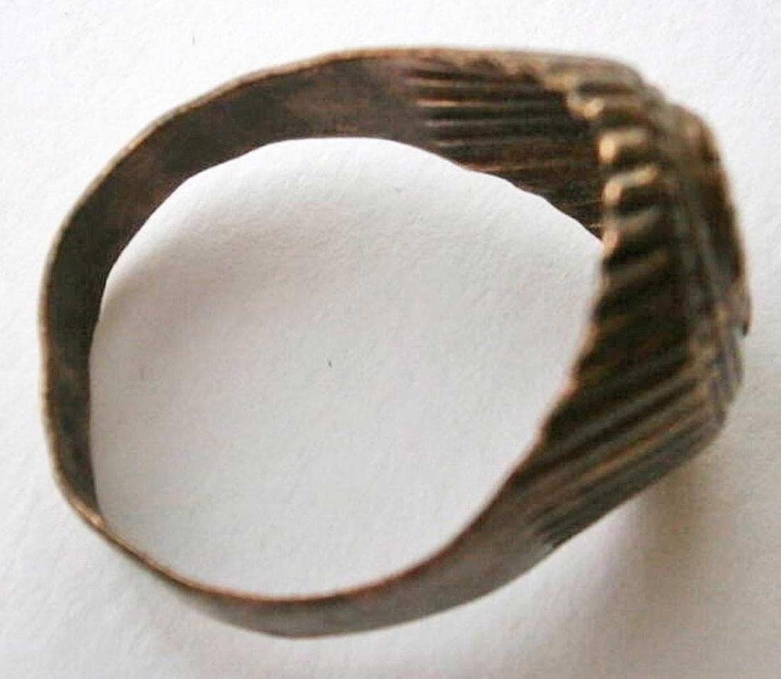 Original German WW2 Bronze Ring - 4