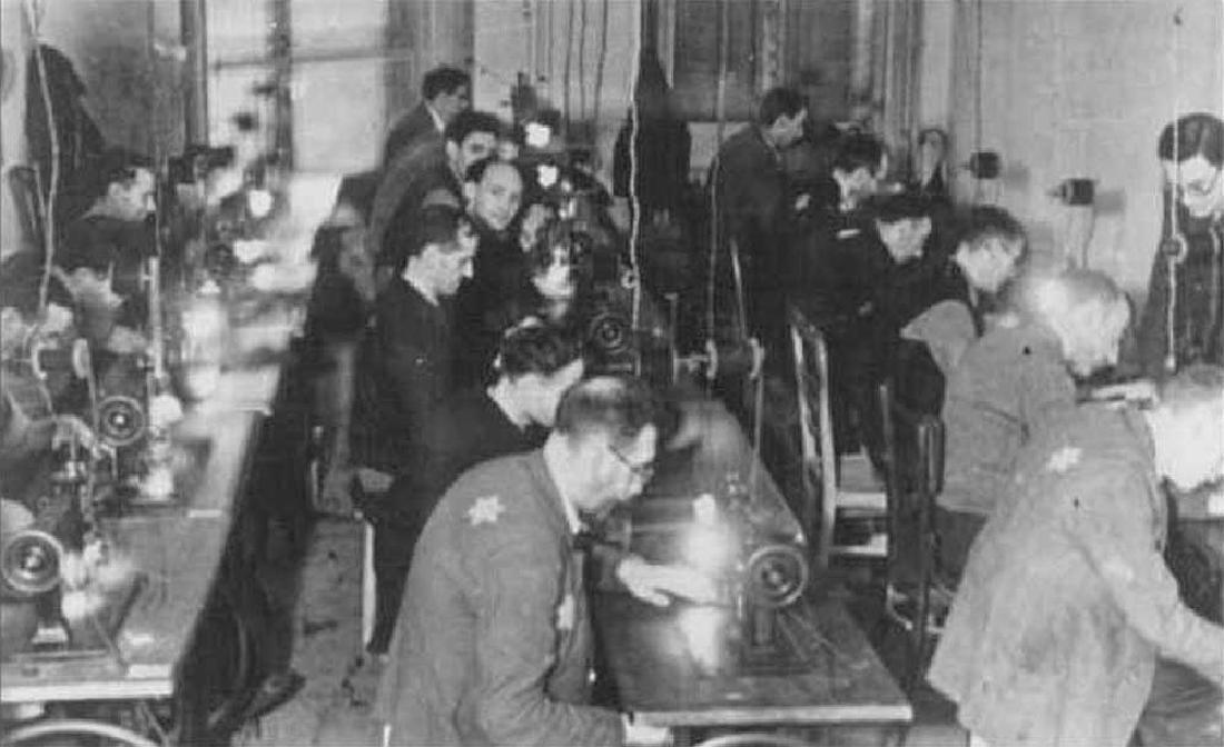 Jewish WW2 Button w. Star of David, Litzmannstadt 1941 - 10