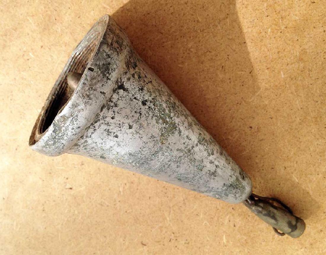 Original German WW2 Bell w. Bullet,1941-1945 - 3