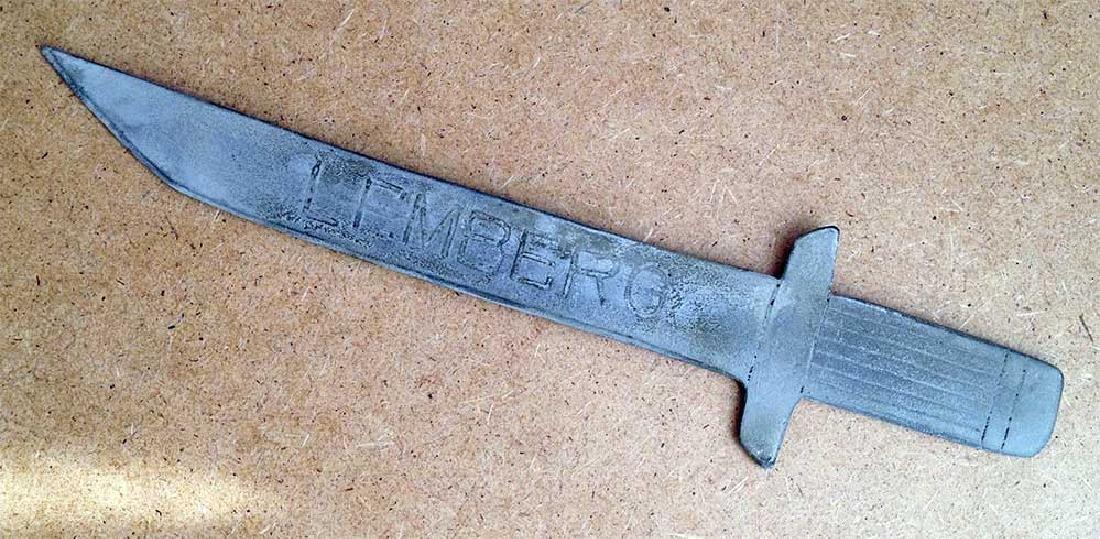 German-Poland WW2 Knife for Envelopes, LEMBERG