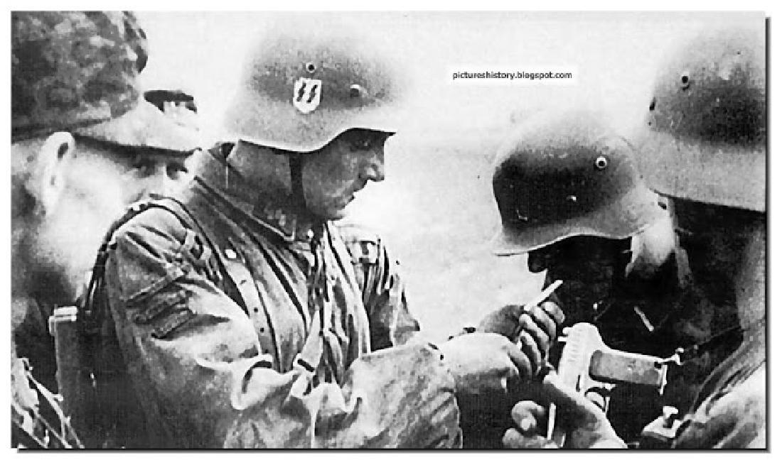 German WW2 CLIP for MATCHES w. SKULL & BONEs - 10