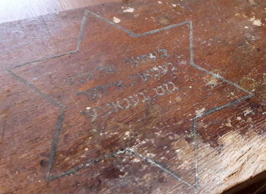 Original Jewish WW2 Doctor's Suitcase w. Star of David - 2