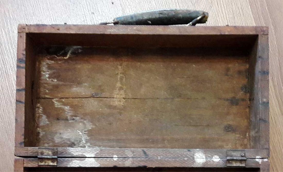 Original Jewish WW2 Doctor's Suitcase w. Star of David - 9