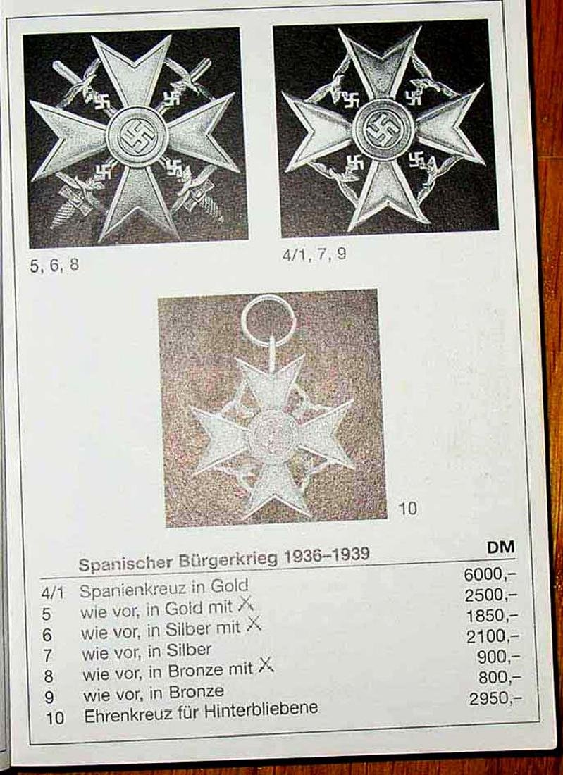 Unique German WW2 Spanish Cross, Legion Condor, L/13 - 10