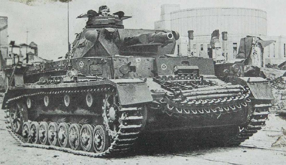 Original German WW2 Box Totenkopf 4 Panzerarmee - 10