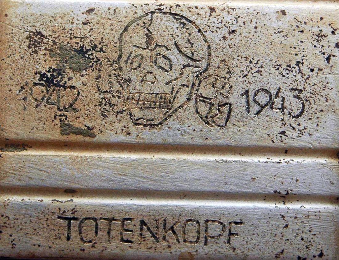 Original German WW2 Box Totenkopf 4 Panzerarmee - 9