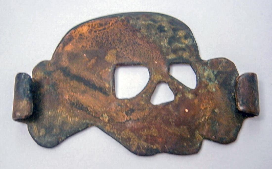 German WW2 Cocarde BADGE w. SKULL & BONEs, Trench Art - 8