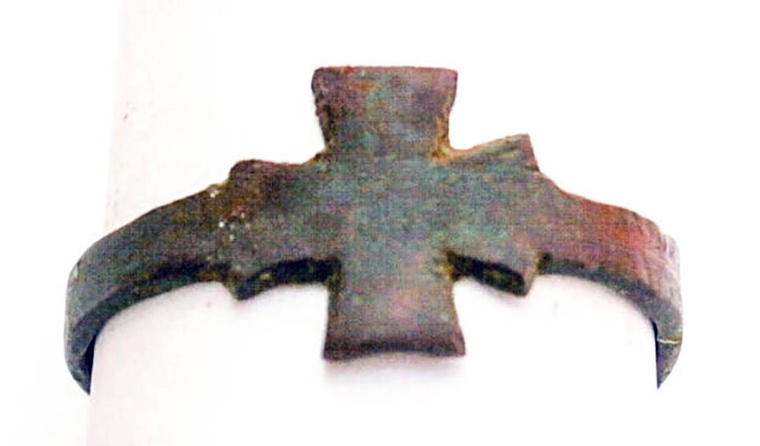 Original German WW2 Bronze Iron Cross, 1941-1945 - 3