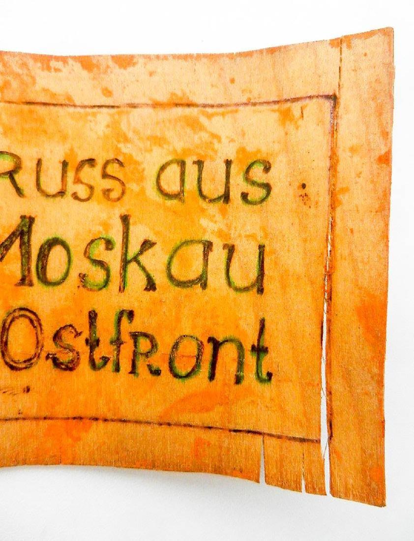 Original German WW2 Postcard Greeting fr. Moscow, 1941 - 7