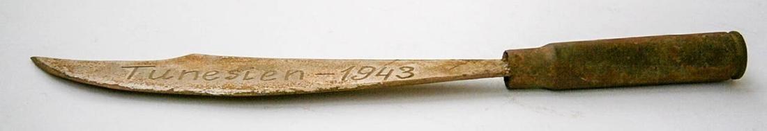 German WW2 Knife Envelopes Opener, Afrika Korps 1943 - 3