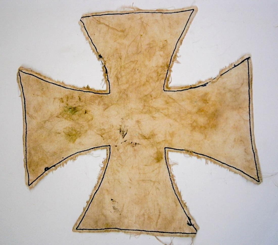 German WW2 NAPKIN as Iron Cross, Trench Art