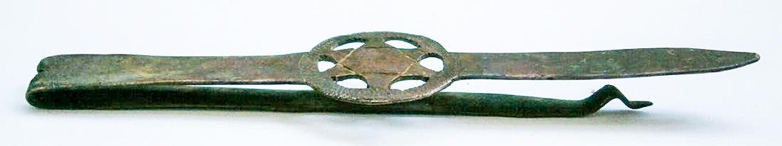 Original Jewish WW2 Clip w. Star of David, JUDAICA - 2