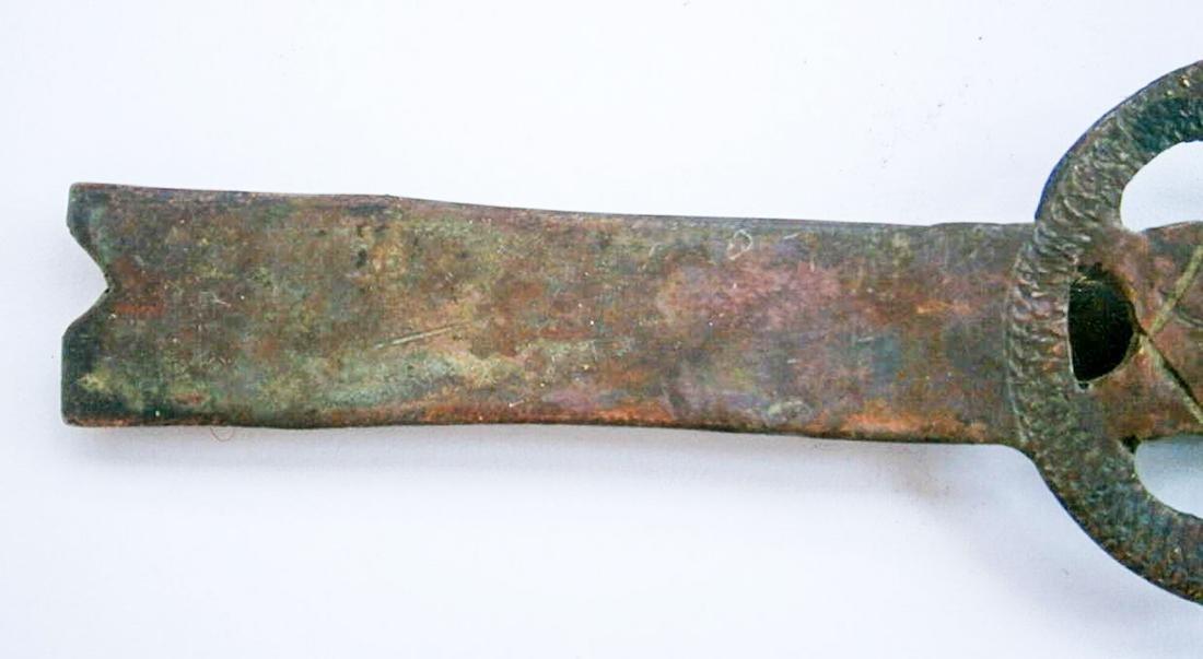 Original Jewish WW2 Clip w. Star of David, JUDAICA - 4