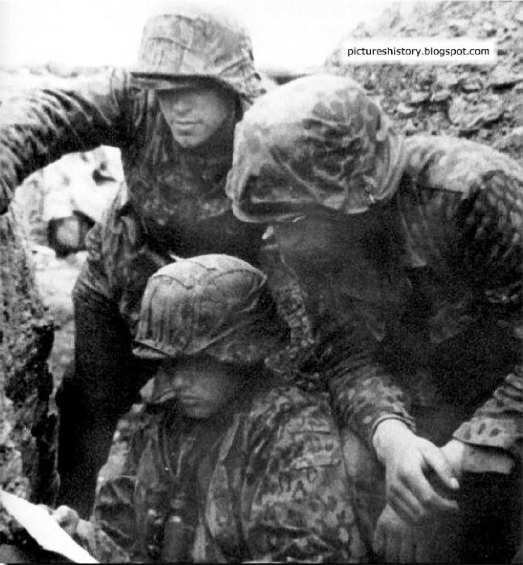 Original German WW2 Frame for Photo, Trench Art - 10