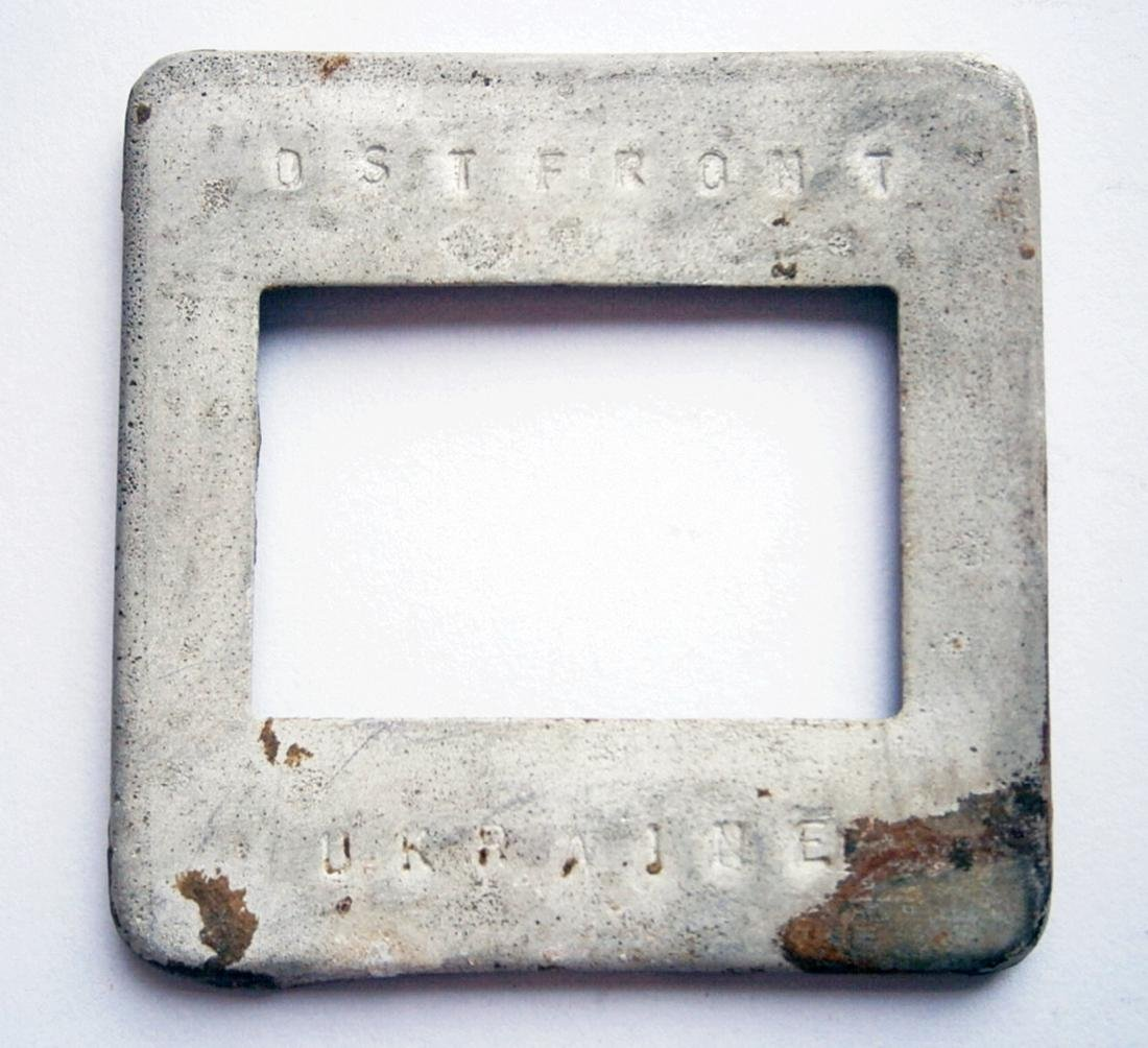 Original German WW2 Frame for Photo, Trench Art