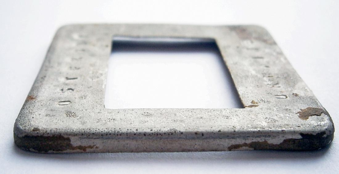 Original German WW2 Frame for Photo, Trench Art - 5