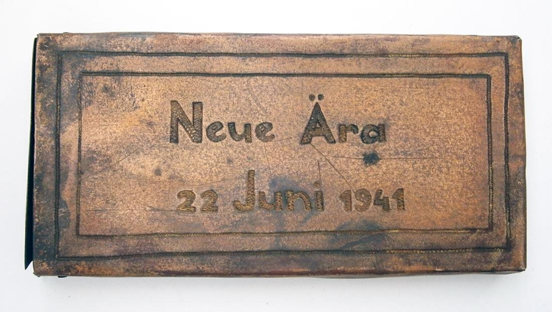 Original German WW2 Cigarette Case Neue Ara, 1941