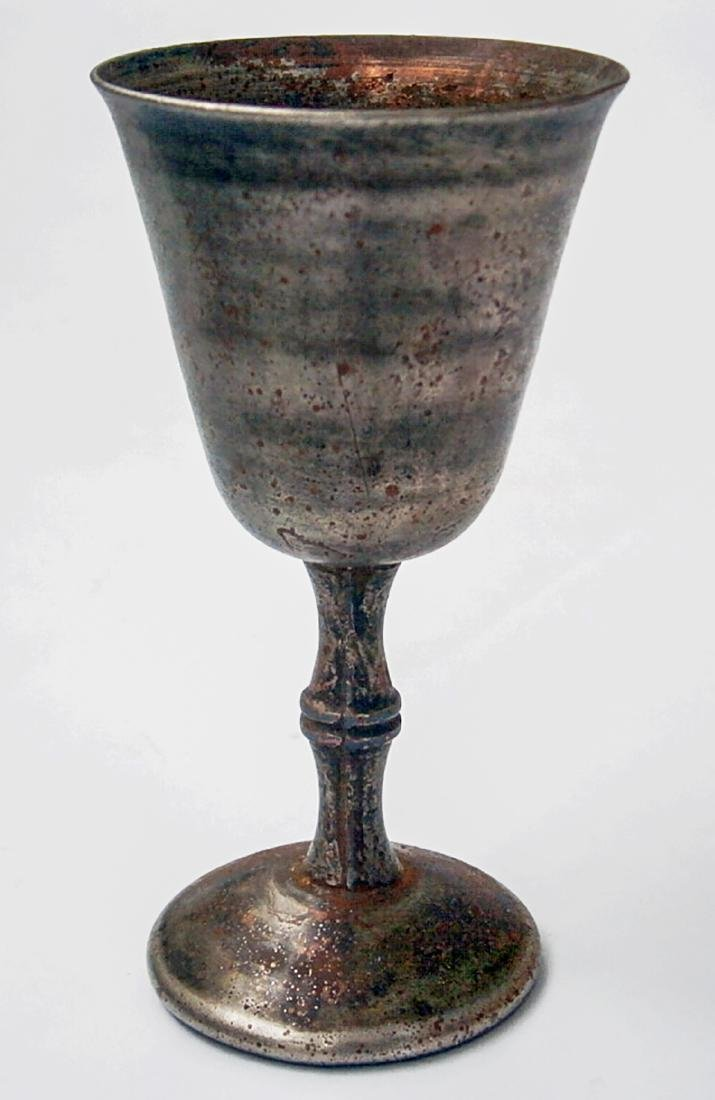 Original German WW2 Wine CUP w. Skull & Bones - 8