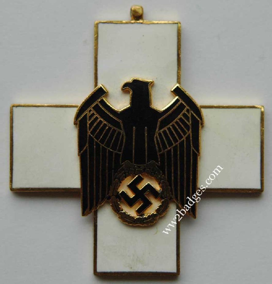 German WW2 Cross Civil Welfare 1st CLASS for NECK