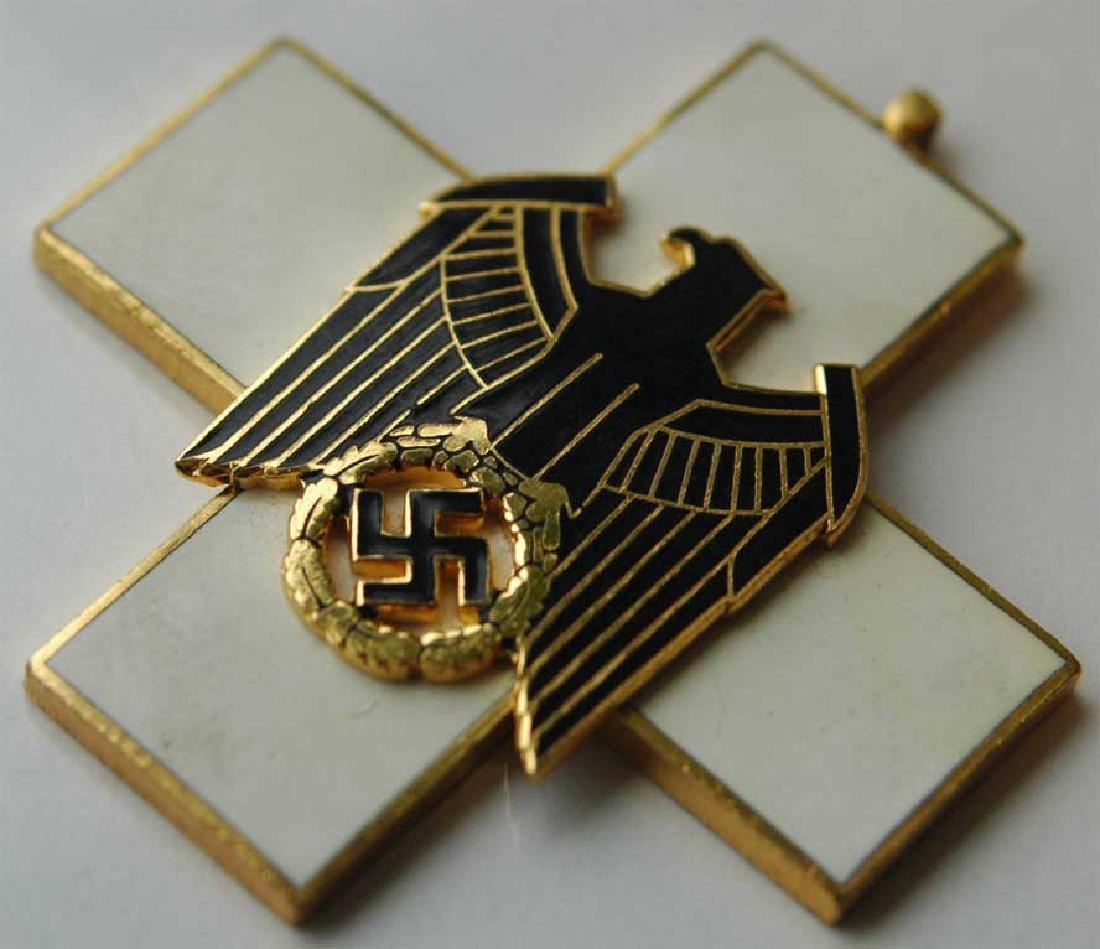 German WW2 Cross Civil Welfare 1st CLASS for NECK - 2