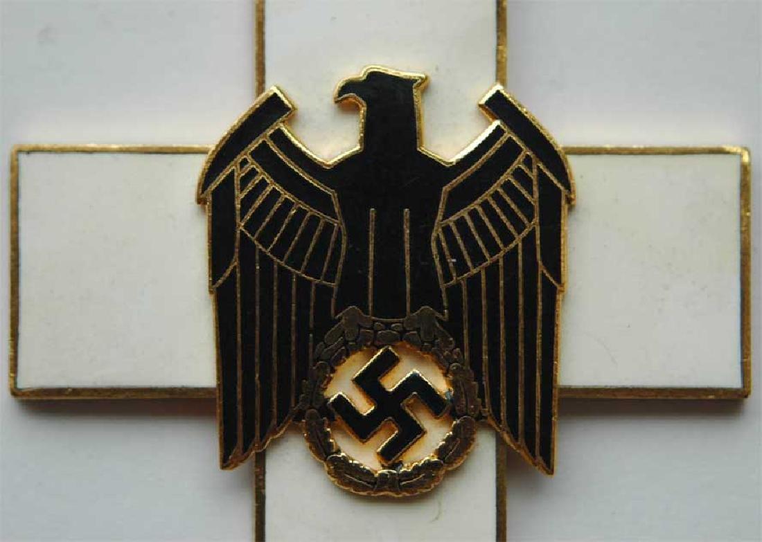 German WW2 Cross Civil Welfare 1st CLASS for NECK - 3
