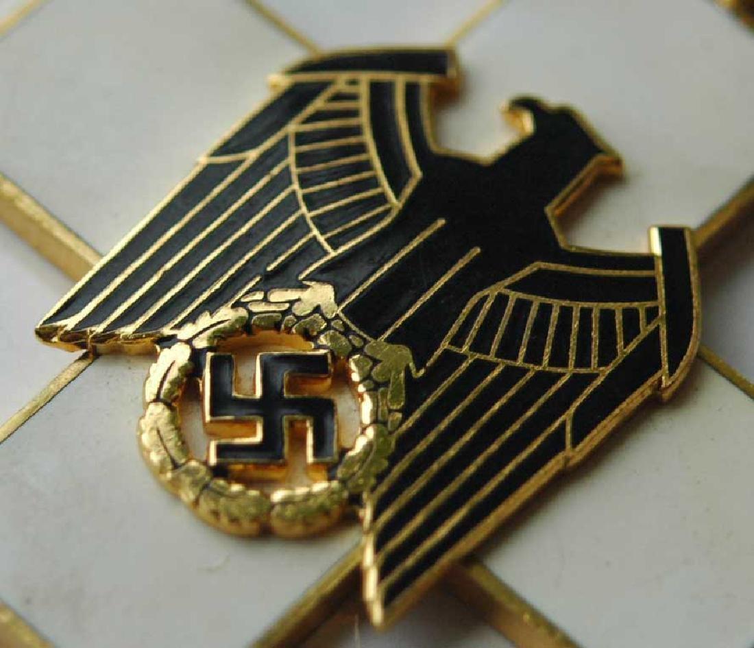 German WW2 Cross Civil Welfare 1st CLASS for NECK - 4
