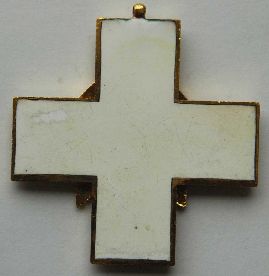 German WW2 Cross Civil Welfare 1st CLASS for NECK - 5