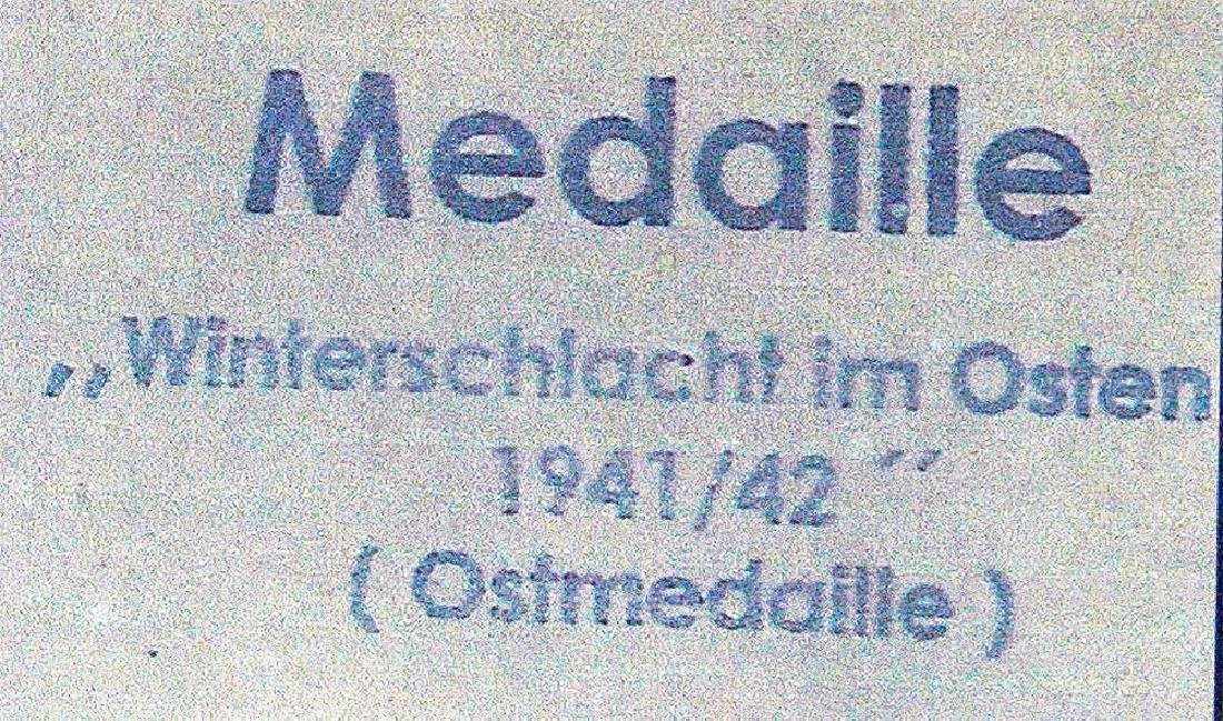 German WW2 LDO Box, OSTMEDAILLE - 3