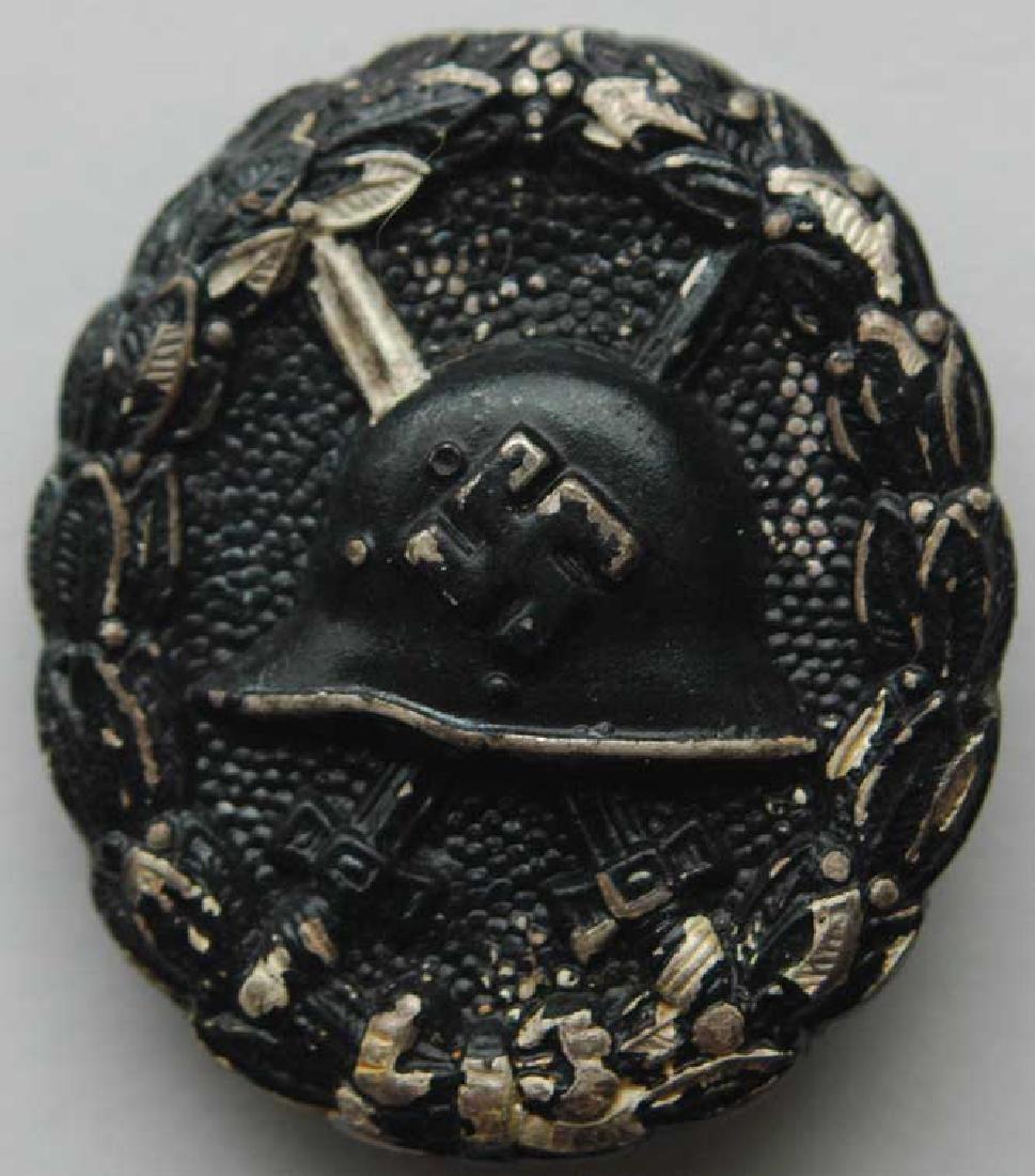Rare German WW2 Black Wound Badge
