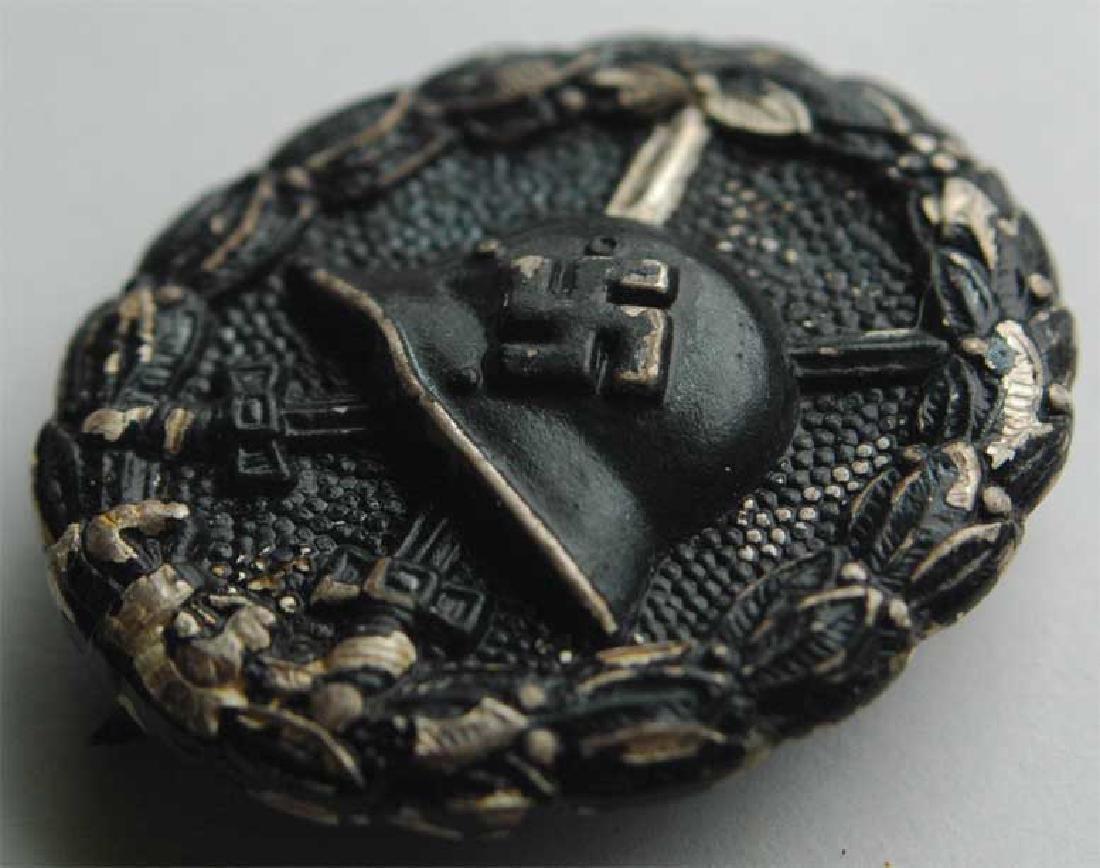 Rare German WW2 Black Wound Badge - 2