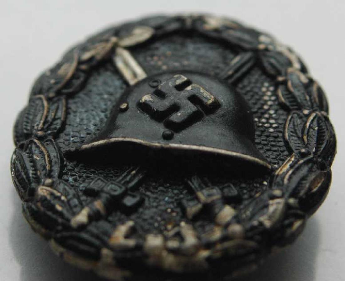 Rare German WW2 Black Wound Badge - 3
