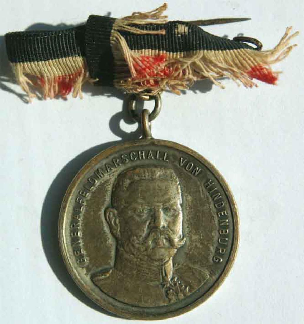 Original German WW1 Medal, Hindenburg - 2