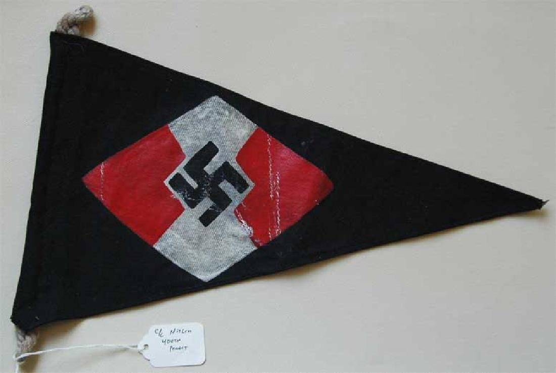 German WW2 Hitlerjugend Pennant, Kriegsmarine