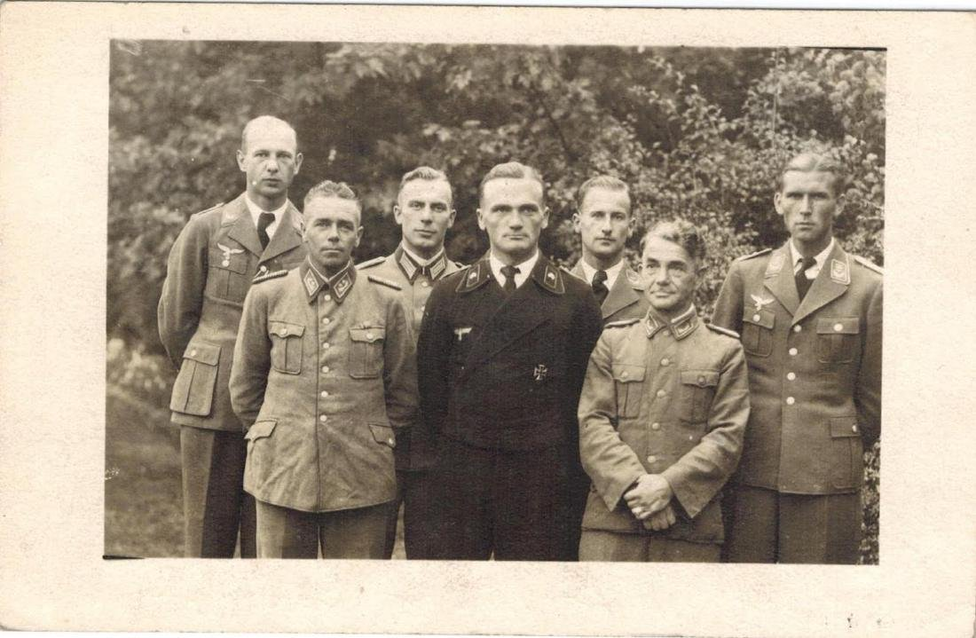 German WW2 RLB Reichsluftschutzbund Pin - 4